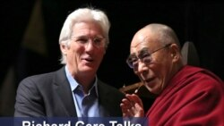 Richard Gere talks to VOA Tibetan (English)