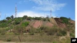 Un ancien site de la Gécamines, Likasi, RDC, novembre 2011