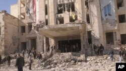 سوریا: بههۆی دوو تهقینهوه له شـاری حهڵهب 28 کهس دهکوژرێن