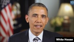 Tổng thống Hoa Kỳ Barack Obama kêu gọi quốc hội thực hiện một số biện pháp mà ông nói sẽ vực dậy nền kinh tế đang phục hồi một cách chậm chạp, trong bài diễn văn hàng tuần phát thanh hôm nay (01/6/2013)