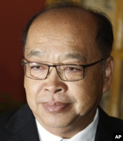 Surapong Towijakchaikul, Thailand's Foreign Affairs Minister.