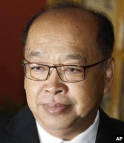 Surapong Towijakchaikul, Thailand's Foreign Affairs Minister.
