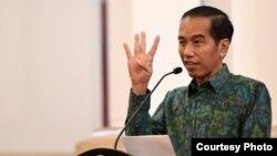 Presiden Joko Widodo menegaskan akan terus memberantas pungli (foto: dok).