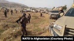 نیروهای افغان در جنگ غزنی