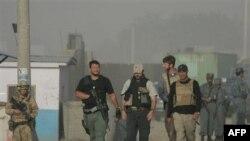Сотрудники частных охранных фирм, работающие по контракту в Афганистане. Кабул. 25 августа 2007 года