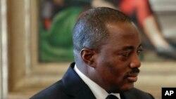 Le président Joseph Kabila, 26 septembre 2016.
