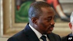 Le président de la RDC Joseph Kabila, 26 septembre 2016.