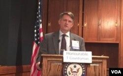 美国国务院助理国务卿康特里曼(美国之音叶林拍摄)