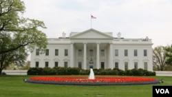 美國白宮(美國之音亞微拍攝)