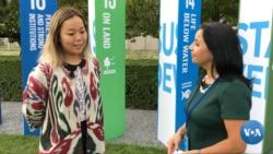 Tatyana Sin, Uzbekistan: Young people should save the planet