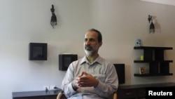 El presidente de la Coalición Nacional de Siria, Mouaz Alkhatib.