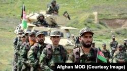 Afg'oniston xavfsizlik kuchlari. 20-aprel, 2020.