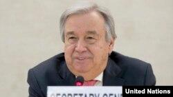 Sekretaris Jenderal PBB Antonio Guterres (foto: dok).
