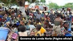 Refugiados da RDC em Lunda Norte