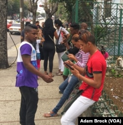 In the past few months, wireless hotspots have begun to appear in Havana. Access costs about $3/hour.