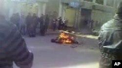 青海藏人自焚,资料图片
