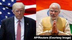 Tổng Thống Mỹ Donald Trump-Thủ tướng Ấn độ Narendra Modi