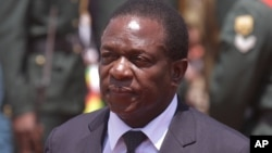 Vice President Emmerson Mnangagwa.