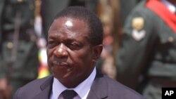 Emmerson Mnangagwa, le nouveau vice-président du Zimbabwe et potentiel remplaçant de Robert Mugabe.