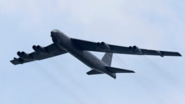 FILE - A B-52 strategic bomber from the United States Air Force
