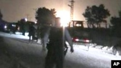 انفجار لولۀ نفت در سرحد ترکیه