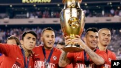 Copa America Centenario Argentina Chile Soccer