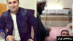 تصویری از مرتضی کهنسال، آخوند مدعی طب اسلامی در بیمارستان و در کنار محسن شریفی