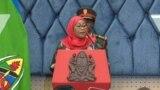 Rais Samia Suluhu Hassan wa Tanzania