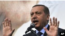 Turkey's Prime Minister Recep Tayyip Erdogan (file photo)
