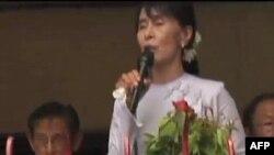 """Liderka burmanske opozicije Aung San Su Ši, proglasila je danas """"novu eru"""" u Burmi"""