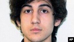 ژوخار سارنیف پر اپنے بھائی تیمرلین سارنیف کے ساتھ بوسٹن میراتھون میں بم دھماکوں کا الزام ثابت ہوا تھا۔ فائل فوٹو