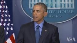 奥巴马: 美国必须正视枪支暴力频繁发生