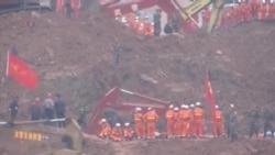 深圳滑坡首次證實有人死亡
