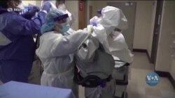 Минулої суботи у США вакцинували від Ковіду 4 мільйони 600 тисяч людей - це новий денний рекорд вакцинації. Відео