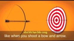 Thành ngữ tiếng Anh thông dụng: Moving target (VOA)
