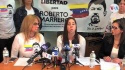 Exigen liberación de Roberto Marrero