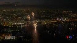 世界各大城市加強戒備迎新年