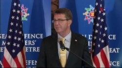 Bộ trưởng Quốc phòng Mỹ, Malaysia lên tàu di chuyển ở Biển Đông