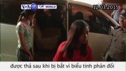 Sinh viên Myanmar biểu tình phản đối dự luật giáo dục được thả (VOA60)