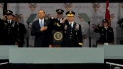 ปธน.โอบามาประกาศนโยบายด้านการทหารย้ำอเมริกาจะใคร่ครวญอย่างระมัดระวังที่จะใช้กำลังทหารแทรกแซง ตปท.