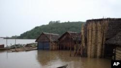 Aftermath of Cyclone Bingiza