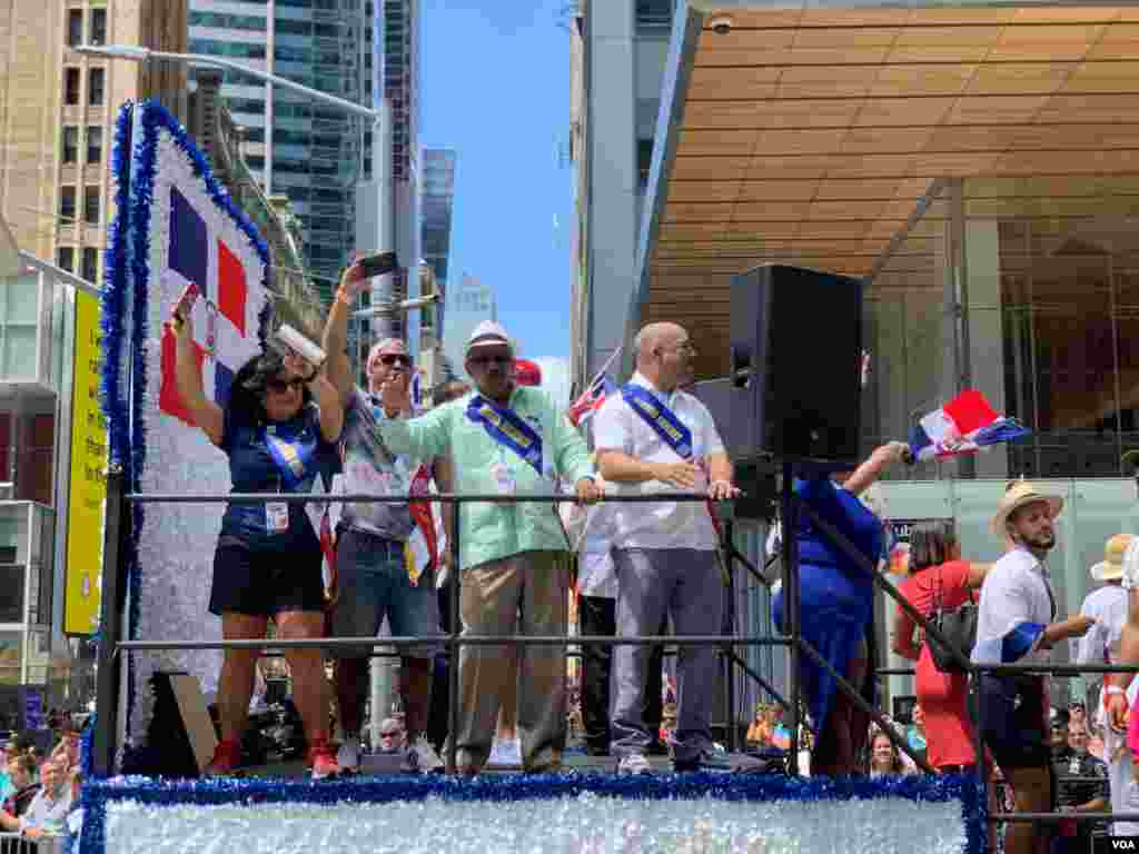 Varios grupos LGBTQI dominicanos se registraron para participar en laGran Parada Dominicana este domingo 11 de agosto. Foto: Jorge Agobián - VOA.