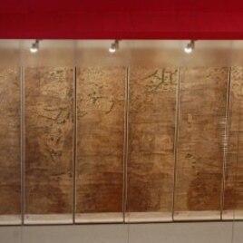 World map drawn by Matteo Ricci in 1603, Macau Museum of Art, Macau, China, 22 Oct 2010