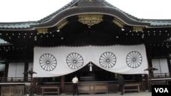 东京靖国神社资料照(美国之音王南拍摄)
