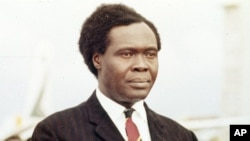 Former President of Uganda Milton Obote (file photo)