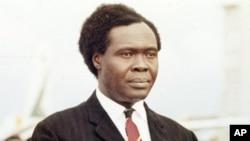 Former President of Uganda Milton Obote (file photo)