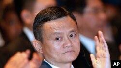 阿里巴巴创始人马云(资料照片)