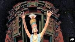 Hoto daga wani fim da aka yi kan 'yan kabilar Maya da kuma irin ilmin da suka mallaka, wanda ya kai na mutanen zamanin yau, game da taurari, abinda ya ba su damar iya rubuta kalandar abubuwan da suka faru a baya, da kuma hasashen abubuwan da ka iya faruwa