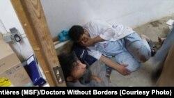 آرشیف: شفاخانه داکتران بدون سرحد در شهر کندز در ماه اکتوبر ۲۰۱۵ توسط قوای امریکایی هدف قرار گرفت