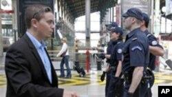 프랑스 경찰이 파리의 경계를 강화하고 있다.(자료사진)